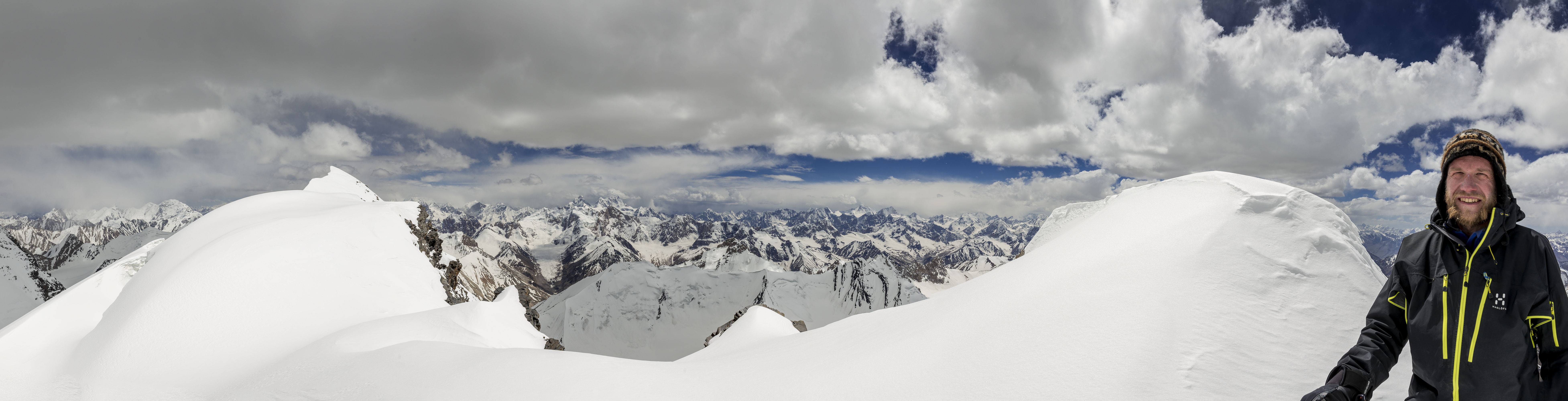 Panorama from top of Koh-e-Wakhan