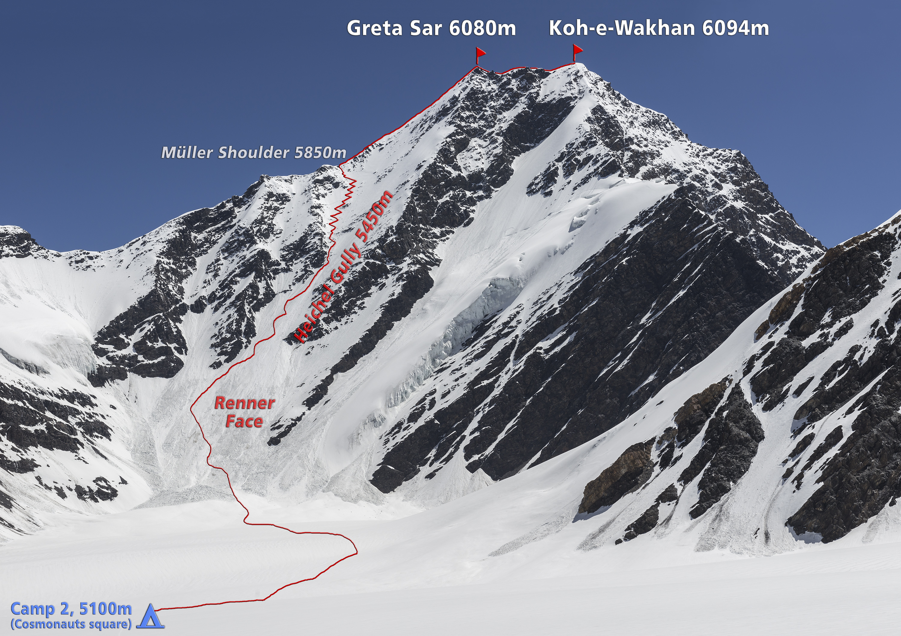 West Face of Koh-e-Wakhan