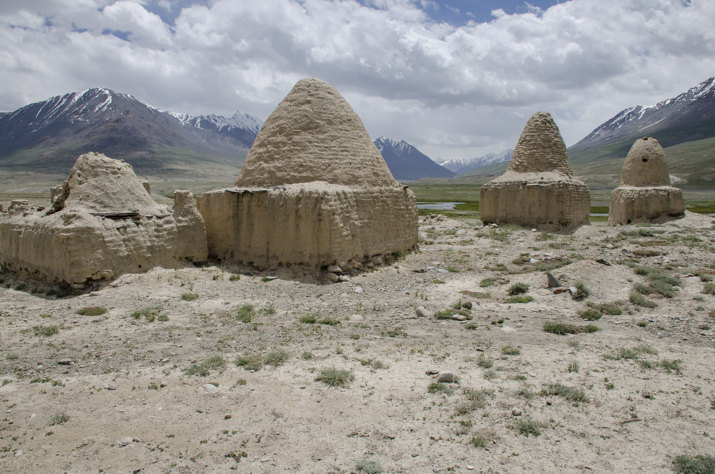 Tombs in Little Pamir