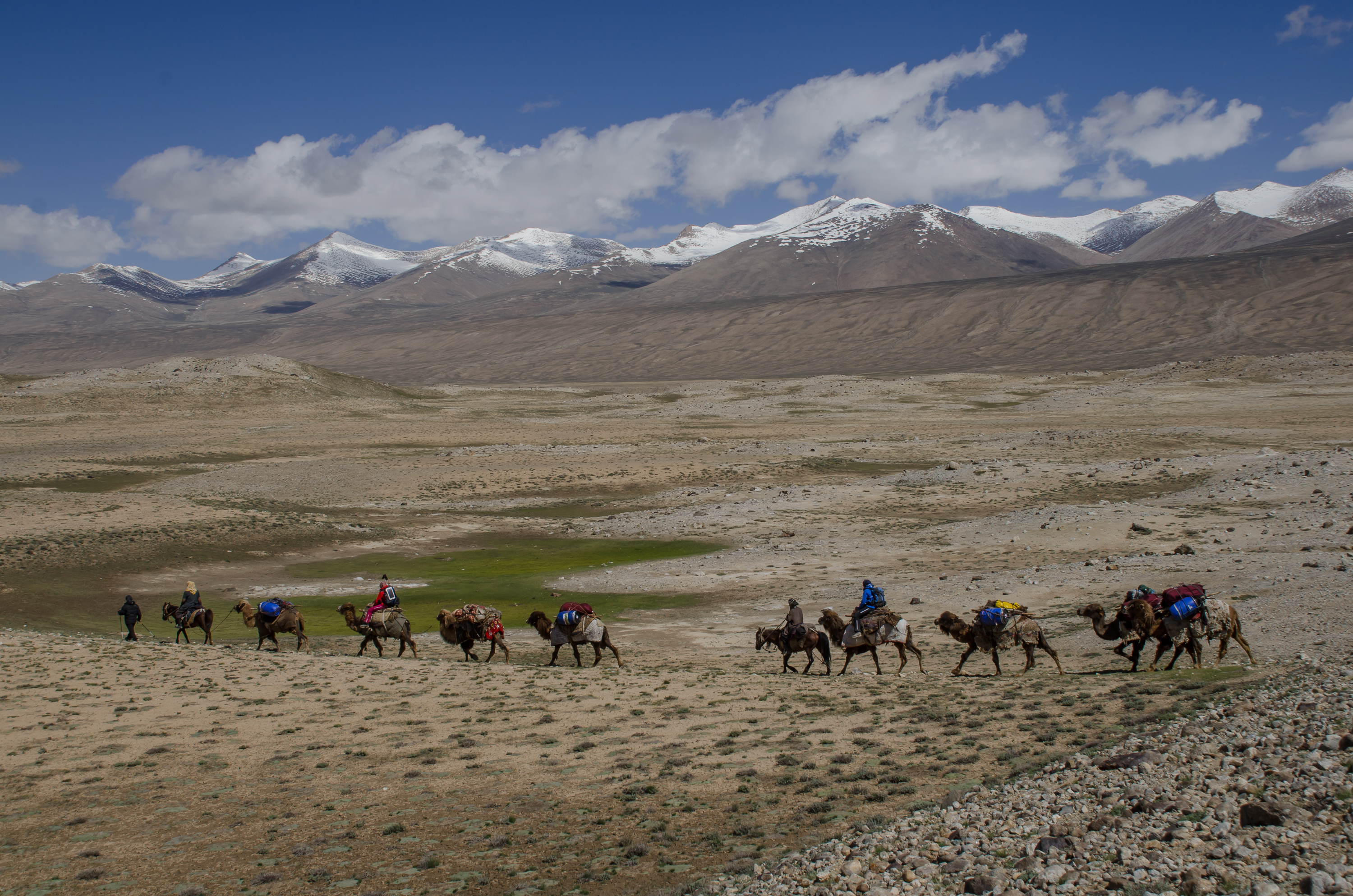 Caravans in Big Pamir