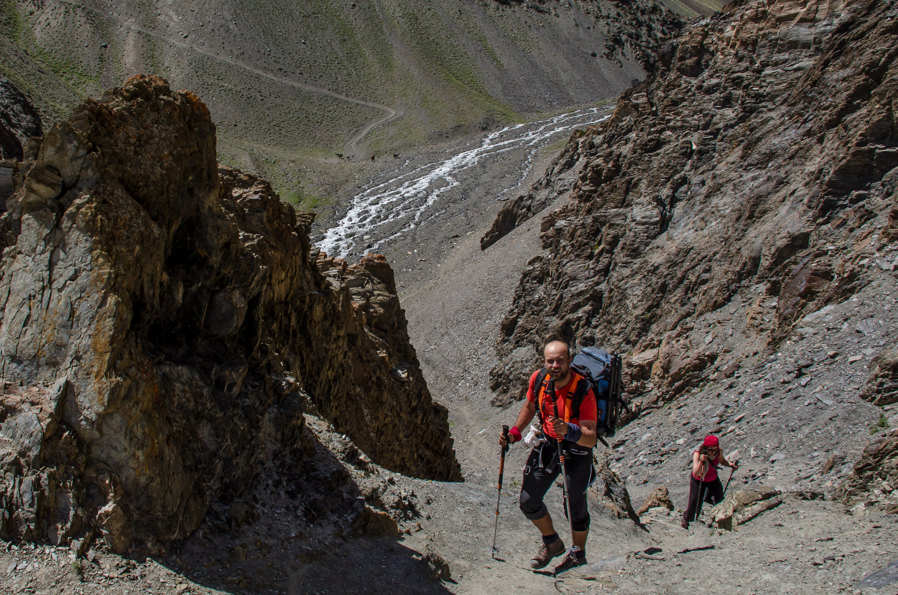 Trekking in Little Pamir